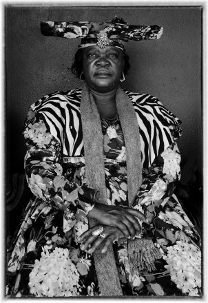 Herero Woman, Ehomba, Namibia, 2011, giclee hybrid, 82 x 54 cm, signed in margin