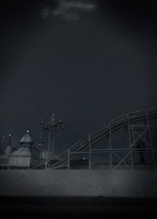 Luna Park 8, Archival Ink Jet Print, 72 x 113 cm, signed and numbered in the margin. Edition of 20.