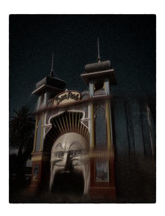 Luna Park 7, Archival Ink Jet Print, 72 x 113 cm, signed and numbered in the margin. Edition of 20.