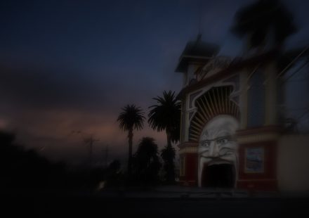 Luna Park 5, Archival Ink Jet Print, 72 x 113 cm, signed and numbered in the margin. Edition of 20.