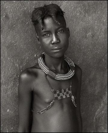 Ovahimba Boy, Epupa, Namibia, 2011, giclee hybrid, 82 x 54 cm, signed in margin