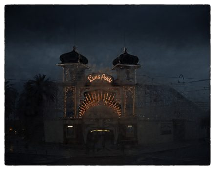 Luna Park 1, Archival Ink Jet Print, 72 x 113 cm, signed and numbered in the margin. Edition of 20.