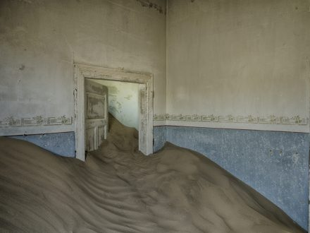 A Child's Bedroom - Kolmanskop -Christopher Rimmer
