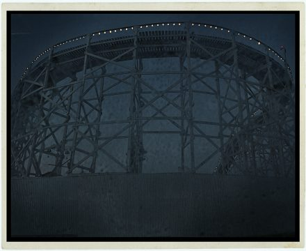 Luna Park 2, Archival Ink Jet Print, 72 x 113 cm, signed and numbered in the margin. Edition of 20.